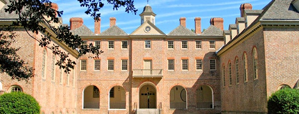 Wren Building and Courtyard is one of Best Of Virginia.
