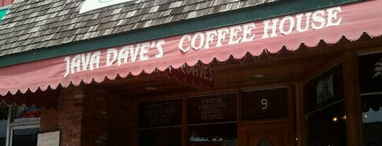 Java Dave's Coffee Shop is one of Hang-outs.
