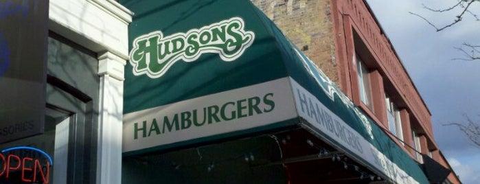 Hudson's Hamburgers is one of Posti salvati di Christopher.