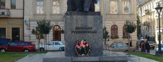 Пам'ятник М. Грушевському is one of EURO 2012 LVIV (MONUMENTS).