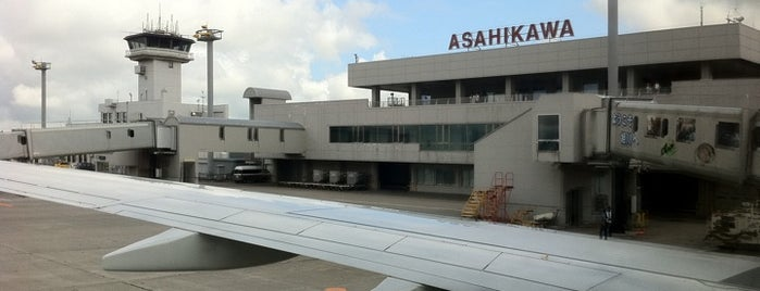 Asahikawa Airport (AKJ) is one of Airport.