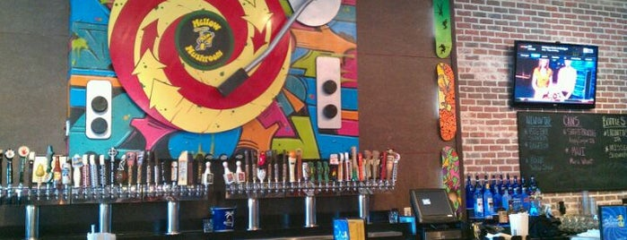 Mellow Mushroom is one of Mill Ave District.