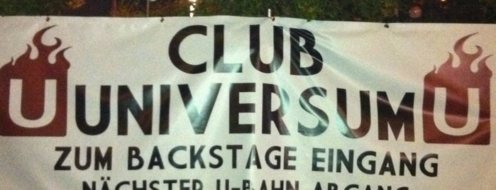Club Universum is one of Kultur.