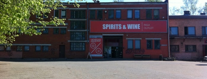 Spirits & Wine (Riga Outlet) is one of AtputasBazes.lv.