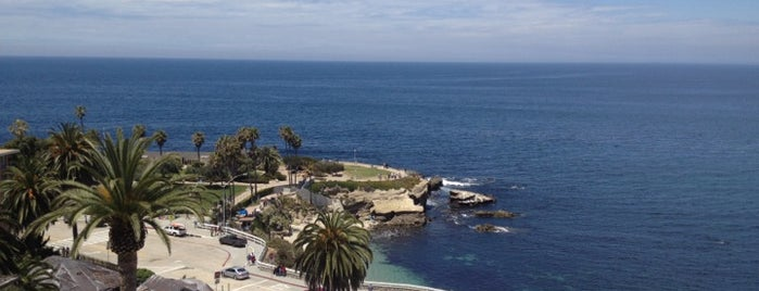 Lunch spots w/ocean view in La Jolla