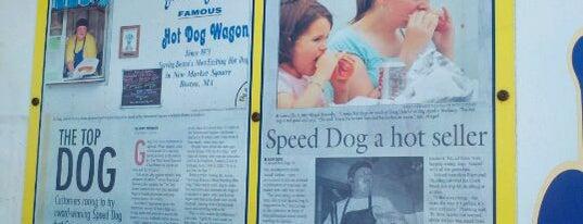 Boston Speed's Hot Dog Wagon is one of Food Trucks in Boston.
