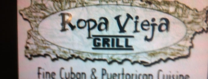Ropa Vieja is one of Locais curtidos por KATIE.