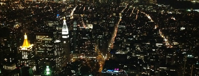 Empire State Building 86th Floor Observation Deck is one of Great Venues To Visit....