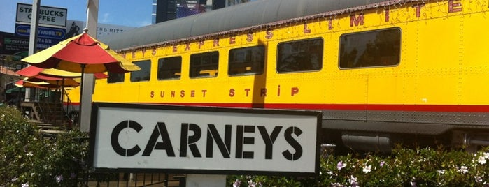Carney's is one of LA- la land.