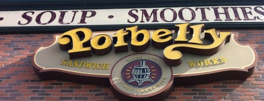 Potbelly Sandwich Shop is one of Tempat yang Disukai Jeffrey.