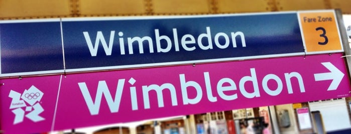 Wimbledon Railway Station (WIM) is one of You calling me a train spotter?.