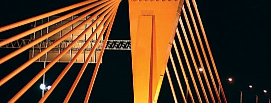 Dienvidu tilts | Southern bridge | Южный мост is one of 4sq Cities! (Europe).