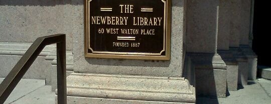 Newberry Library is one of Study spots.