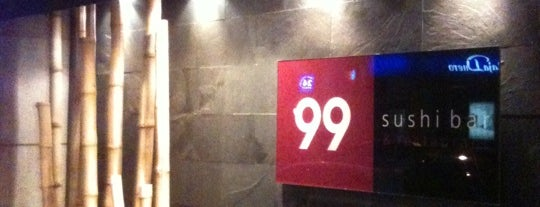 99 Sushi Bar is one of Lugares guardados de Miguel.