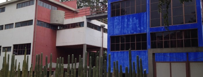 Museo Casa Estudio Diego Rivera y Frida Kahlo is one of Museos en DF.
