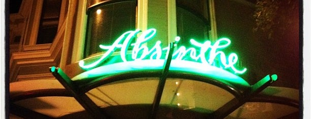 Absinthe Brasserie & Bar is one of SFO.