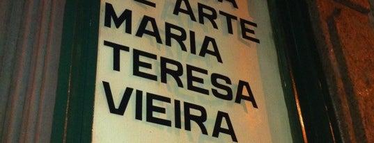 Centro de Arte Maria Teresa Vieira is one of Quem tá no rock....