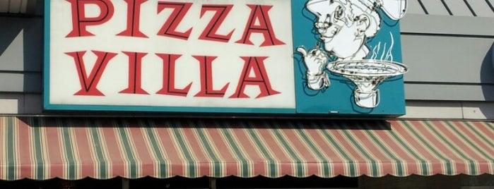 Pizza Villa is one of สถานที่ที่บันทึกไว้ของ Kevin.
