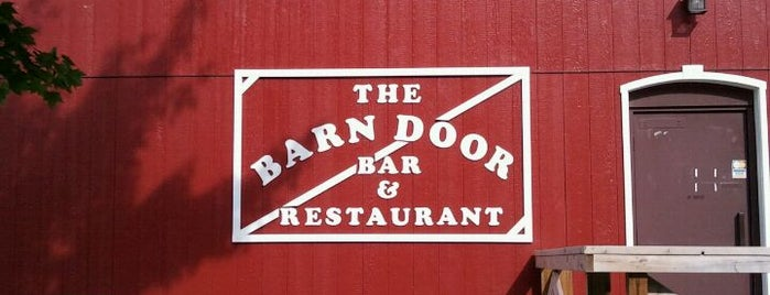 The Barn Door Bar & Restaurant is one of Restaurants.