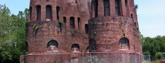 Coplay Cement Kilns is one of Historic Sites in Southeastern PA.