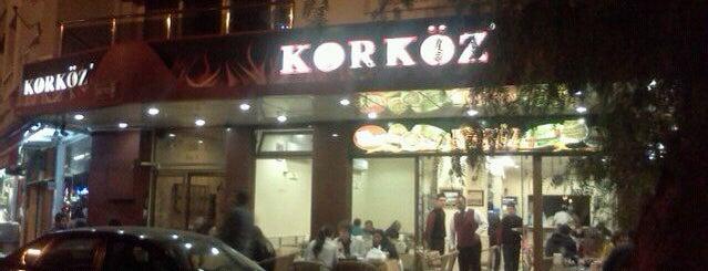 Korköz is one of Yaşasın Yemek Yemek.