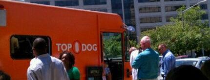 Top Dog Food Truck is one of Washington DC Food Trucks.