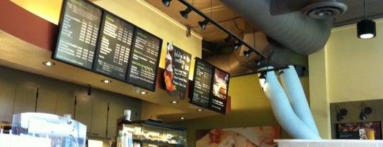 Starbucks is one of California, CA.
