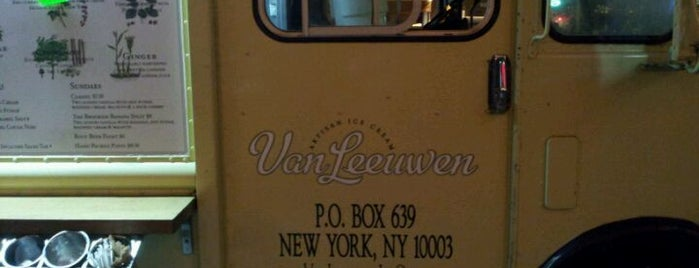 Van Leeuwen Ice Cream Truck is one of NYC Restaurant Master List.