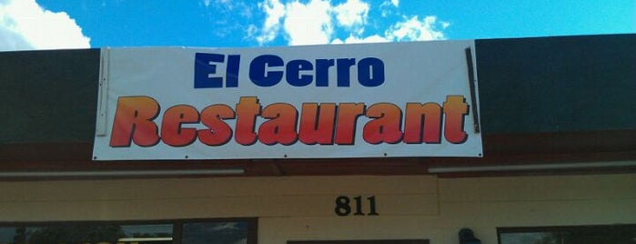 El Cerro Restaurant is one of HEATHERさんの保存済みスポット.