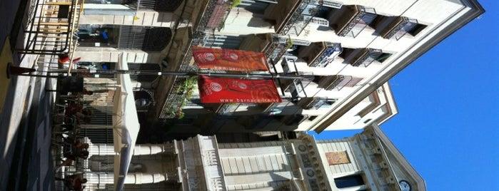 Plaça de la Veronica is one of Itinerari Per la Barcelona de Miró.