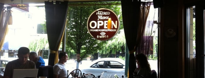 Wired Monk Coffee Bistro is one of Vancouver.