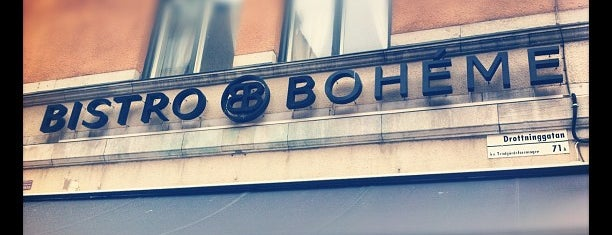 Bistro Boheme is one of Henrik 님이 좋아한 장소.