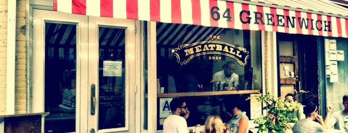 The Meatball Shop is one of Greenwich.