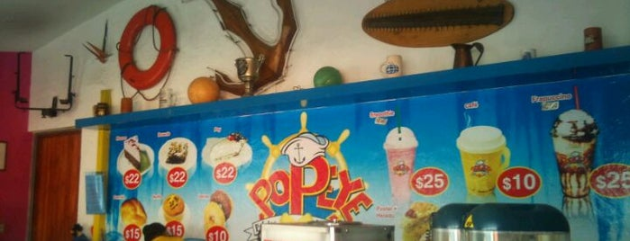 "Paletas ""Popeye"" is one of Lieux qui ont plu à Ariana."