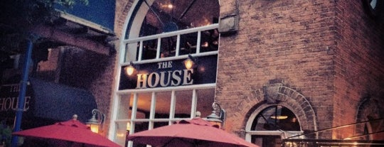 The House is one of NYC Cafes/Bars.