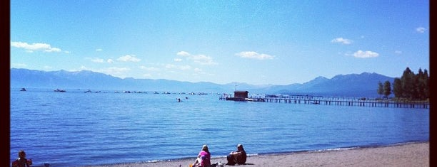 Commons Beach is one of Tahoe.