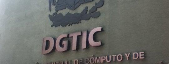 DGTIC is one of Trabajo.
