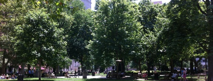 Rittenhouse Square is one of All-time favorites in United States (Part 1).