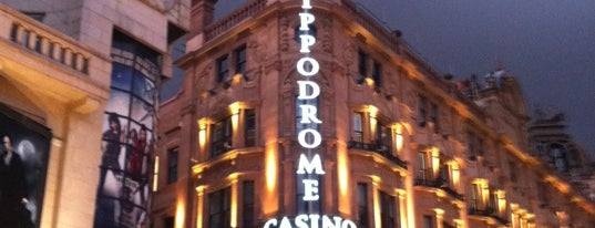 The Hippodrome Casino is one of Lieux sauvegardés par Adam.