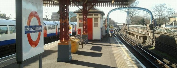 Ravenscourt Park London Underground Station is one of Spring Famous London Story.