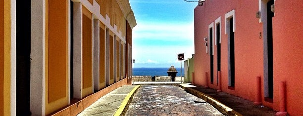 Old San Juan is one of Puerto Rico.