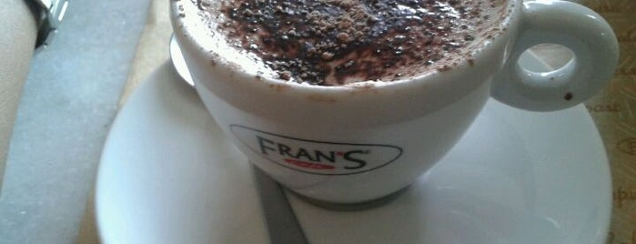 Fran's Café is one of DF_cafés.