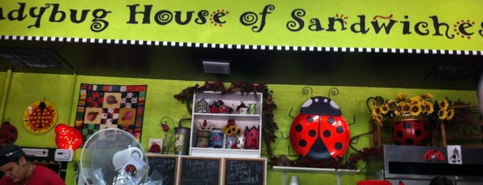 Ladybug House of Sandwiches is one of Downtown Playground.