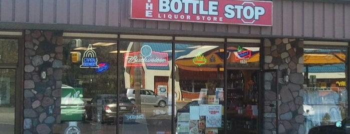 Bottle Stop Liquor Store is one of Stevens Point Wisconsin.