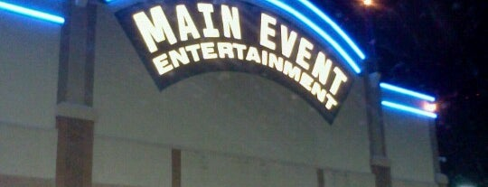 Main Event Entertainment is one of Rebecca'nın Kaydettiği Mekanlar.