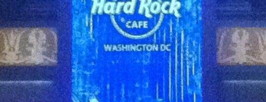 Hard Rock Cafe Washington DC is one of Hard Rock Cafes I've Visited.
