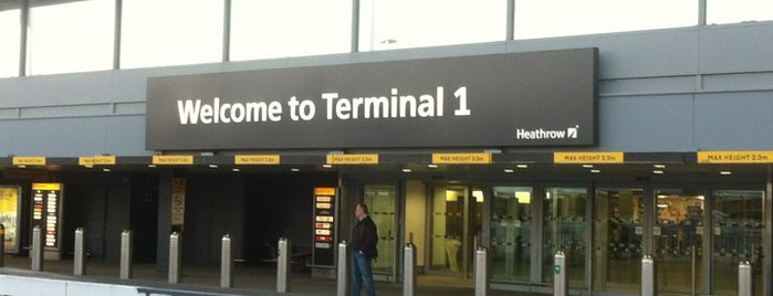 Terminal 1 is one of I Love Airports!.
