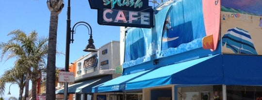 Splash Café Pismo Beach is one of Lugares guardados de Joshua.