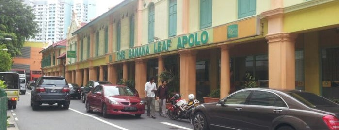 The Banana Leaf Apolo is one of Singapur.