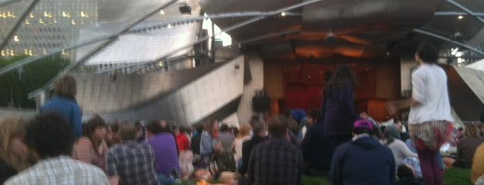 Jay Pritzker Pavilion is one of Parents in Town!.